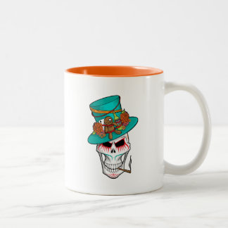 Voodoo Day of the Dead Two-Tone Coffee Mug