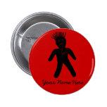 Voodoo Doll 2 Inch Round Button