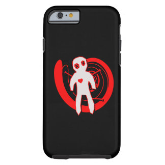 Voodoo Doll in Black and Red iPhone 6 Case