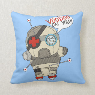 VOODOO DOLL THROW PILLOWS