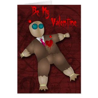 Voodoo Doll Valentine Recipe Card