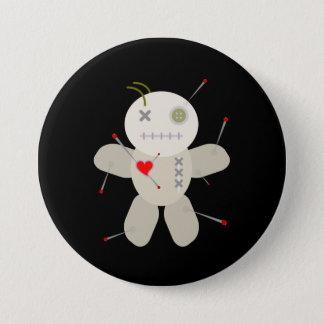 Voodoo Doll Valentine's Day Cartoon Button