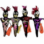 "Voodoo Dolls Cutout<br><div class=""desc"">4 standing Voodoo dolls design by Denise Alvarado.</div>"