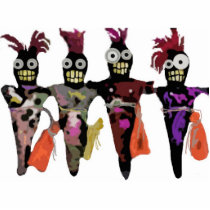 Voodoo Dolls Cutout