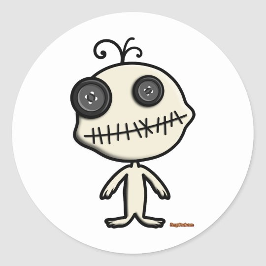 Voodoo Dool Sticker