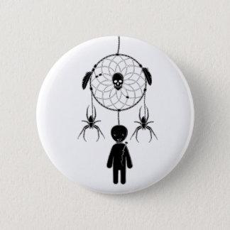 Voodoo dream-catcher pinback button