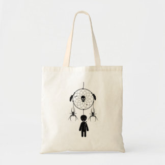 Voodoo dream-catcher tote bag