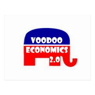 Voodoo Economics 2.0 Postcard