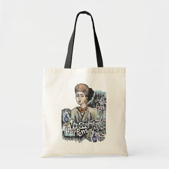 Voodoo Happens! Karma Products Tote Bag