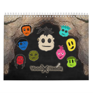 Voodoo Heads Cave Wall Calendars