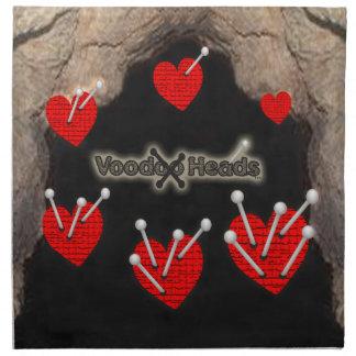 Voodoo Heads ~ Cave Cloth Napkin