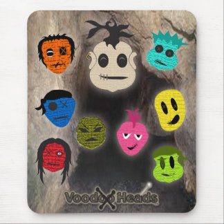 Voodoo Heads ~ Cave Mouse Pad
