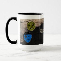 Voodoo Heads ~ Cave Mug