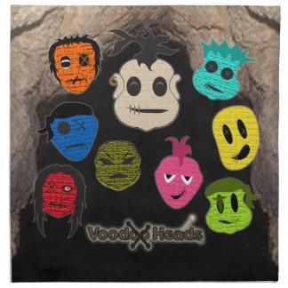 Voodoo Heads ~ Cave Napkin