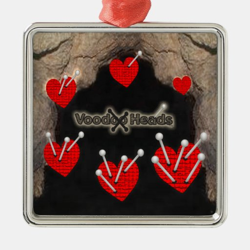 Voodoo Heads ~ Cave Ornaments