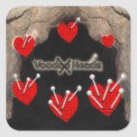 Voodoo Heads ~ Cave Stickers