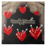 Voodoo Heads ~ Cave Tile