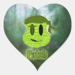 Voodoo Heads ~ Swamp Heart Sticker