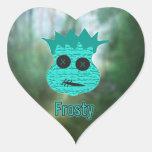 Voodoo Heads ~ Swamp Heart Stickers