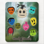 Voodoo Heads ~ Swamp Mouse Pad