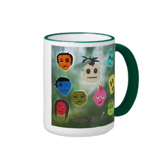 Voodoo Heads ~ Swamp Mugs