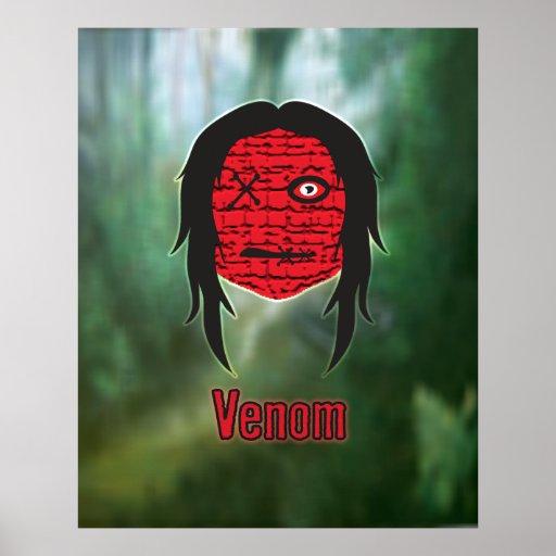 Voodoo Heads ~ Swamp Poster