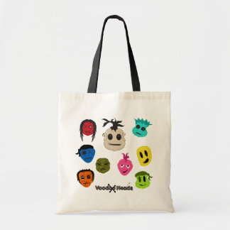 Voodoo Heads Tote Bag