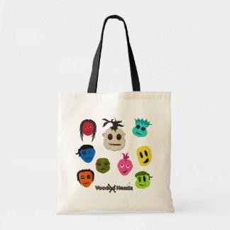 Voodoo Heads Tote Bag