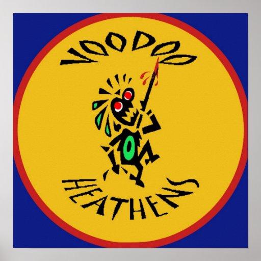 VooDoo Heathens Logo Print