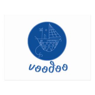 Voodoo Immamou Veve Postcard