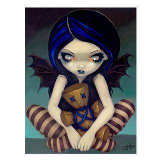 """""""Voodoo in Blue"""" Postcard"""