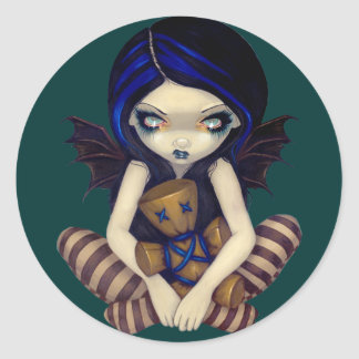 """Voodoo In Blue"" Sticker"
