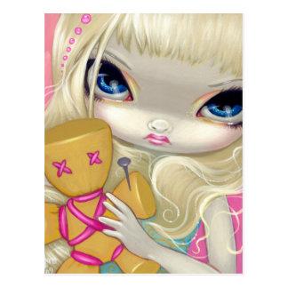 """""""Voodoo in Pink"""" Postcard"""