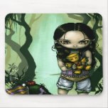 Voodoo in the Bayou gothic fairy Mousepad