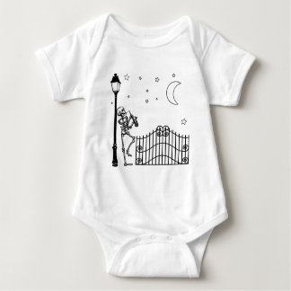 Voodoo Jazz Saxophone Player Baby Bodysuit