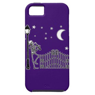 Voodoo Jazz Saxophone Player iPhone SE/5/5s Case