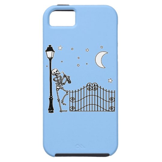 Voodoo Jazz Saxophone Player iPhone SE/5/5s Case