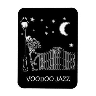 Voodoo Jazz Saxophone Player Magnet
