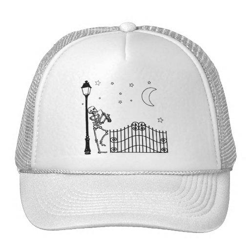 Voodoo Jazz Saxophone Player Trucker Hat