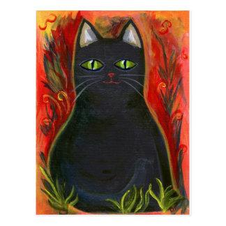 Voodoo Kitty Postcard