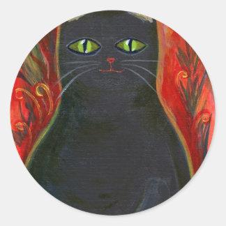 Voodoo Kitty Stickers