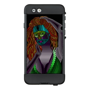 Beach Themed Voodoo Lady Abstract Phone Case