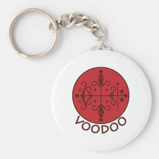 Voodoo Legba Veve Basic Round Button Keychain