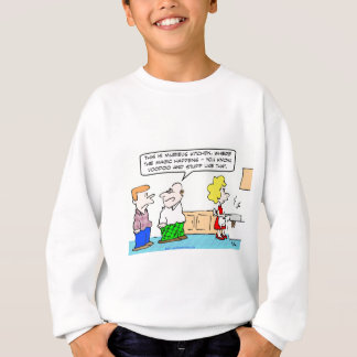 voodoo magic kitchen sweatshirt
