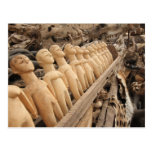 Voodoo muñecas al amuleto mercado, África occident Tarjeta Postal