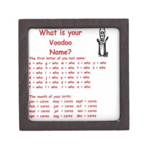 voodoo name premium trinket boxes