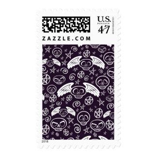 """""""Voodoo"""" Pattern Postage Stamp"""