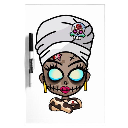 Voodoo Queen Dry Erase Boards