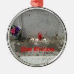 Voodoo Queen Grave in New Orleans Christmas Ornament