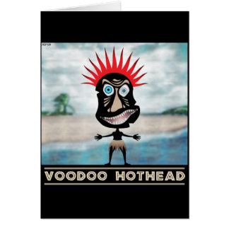 VooDoo Red Head Card